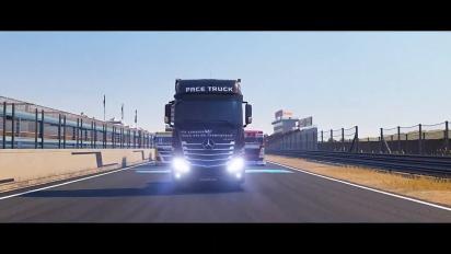 Pelikuvaa FIA European Truck Racing Championshipista