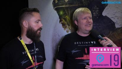 Destiny 2 - Scott Taylor ja Örvar Halldórsson haastattelussa