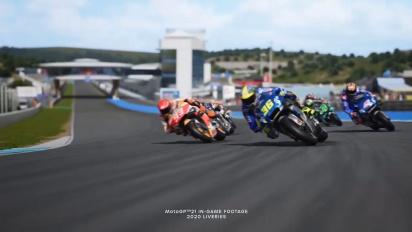 MotoGP 21 - julkistustraileri
