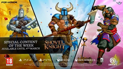 For Honor - Shovel Knight Collaboration -traileri