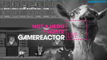 GR Live -uusinta: Not A Hero ja Goat Simulator: GoatZ