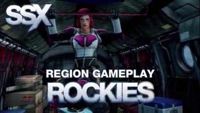 SSX - Regions - Rockies Gameplay