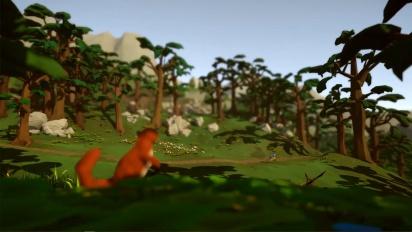 Lonely Mountains: Downhill - Kickstarterin julkaisutraileri