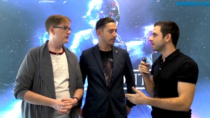 Star Wars Battlefront II - Chris Matthews ja Mitch Dyer haastattelussa