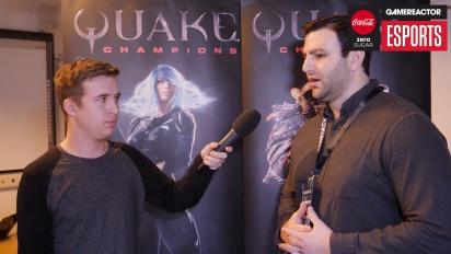 id Software - John Hill haastattelussa