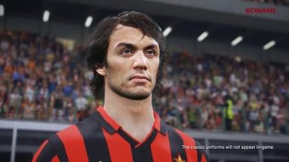 PES 2018 - Milano Legends -traileri