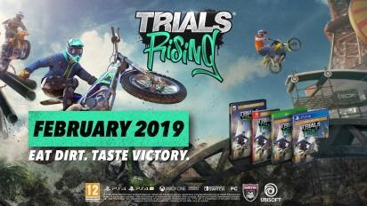 Trials Rising - julkistustraileri