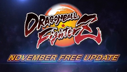 Dragon Ball FighterZ - Free November Update -traileri