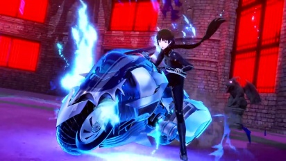 Persona 5 Scramble: The Phantom Strikers - Queen-hahmotraileri (japaniksi)