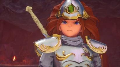 Trials of Mana -  The Sacred Sword Traileri