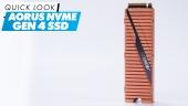 Nopea katsaus - AORUS NVMe Gen4 SSD
