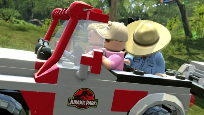 Lego Jurassic World Trailer 2