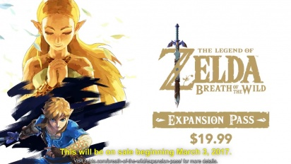 The Legend of Zelda: Breath of the Wild - Expansion Pass -traileri