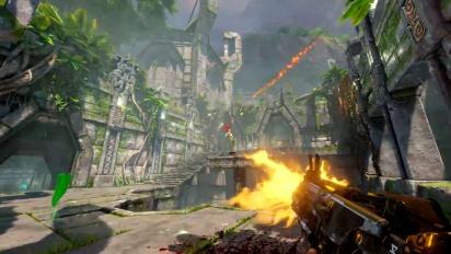 Quake Champions – Ruins of Sarnath Arena -traileri