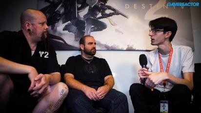 Destiny 2 - haastattelussa Thomas Gawrys ja David Shaw