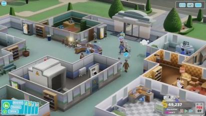Two Point Hospital - virallista kehittäjien pelikuvaa