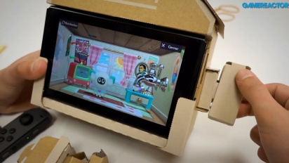 Nintendo Labo: Variety Kit - House Toy-Con Assembly and Gameplay
