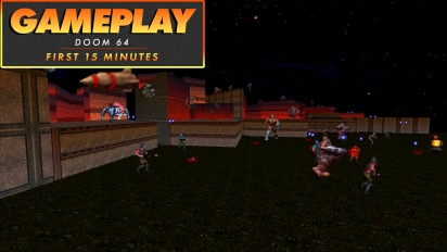 Doom 64 - First 15 Minutes Gameplay