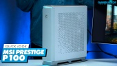 Nopea katsaus - MSI Prestige P100