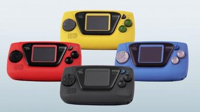 Game Gear Micro - japanilainen julkistustraileri