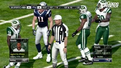 Madden NFL 12 -rysäys: Jets vs Patriots (1/3)