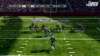 Madden NFL 12 Gameplay: Jets Vs Patriots Pt.2 (of 3)