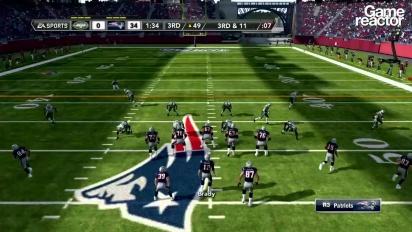 Madden NFL 12 Gameplay: Jets Vs Patriots Pt.3 (of 3)