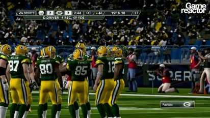 Madden NFL 12 Gameplay: Steelers Vs Packers Pt.3 (of 3)