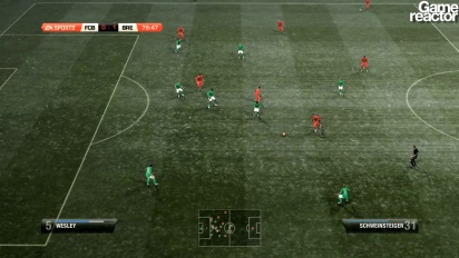 FIFA 12 -pelikuvaa: Bayern München - Werder Bremen