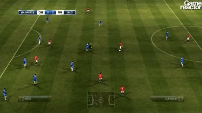 FIFA 12 -pelikuvaa: Chelsea FC - Manchester United