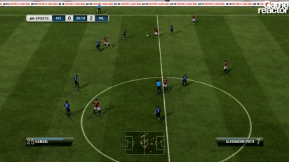 FiFA 12 -pelikuvaa: Inter Milan vastaan AC Milan