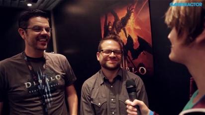 GC 13: Diablo III: Reaper of Souls -haastattelu