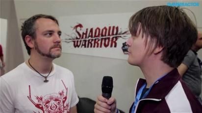 GC 13: Shadow Warriorin käsikirjoittaja haastattelussa