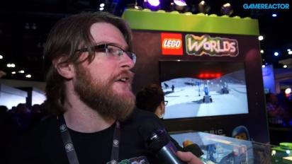Lego Worlds - haastattelussa Chris Rose