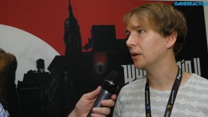Wolfenstein II: The New Colossus - Tommy Tordsson Björk haastattelussa