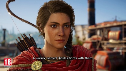 Assassin's Creed Odyssey - E3 2018 Gameplay Walkthrough -traileri