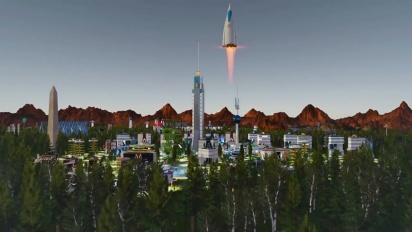 Surviving Mars - Green Planet -julkaisutraileri