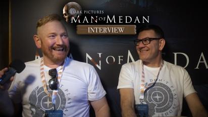 The Dark Pictures Anthology: Man of Medan - Pete Samuels ja Gareth Betts haastattelussa