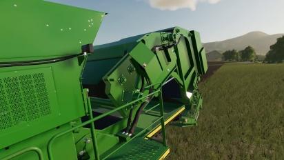 Ensimaistiaisena Farming Simulator 19 - John Deere Cotton -laajennus