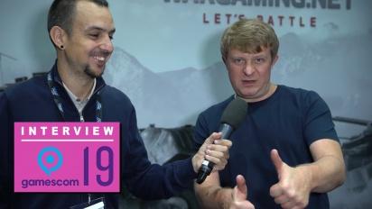 Wargaming - Victor Kislyi Gamescom 2019 haastattelussa