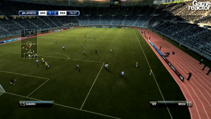 FIFA 12 - Be A Pro -pelikuvaa
