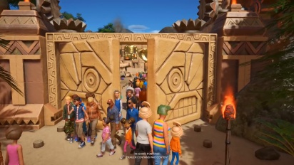 Planet Coaster - Adventure Pack -traileri