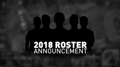 Fnatic 2018 - kokoonpanoilmoitus