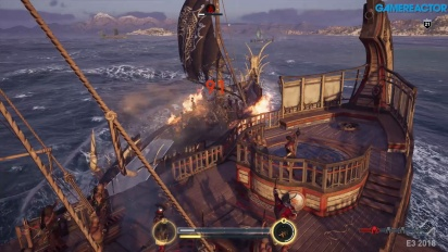 Assassin's Creed Odyssey - Naval Combat -pelikuvaa