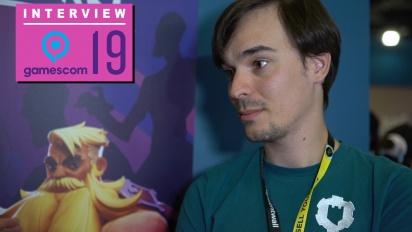 Darksburg - Adrien Briatta haastattelussa