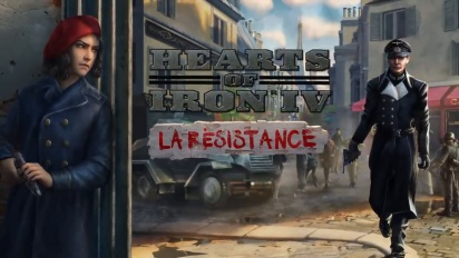Hearts of Iron IV - La Resistance Expansion -julkistus