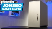 Nopea katsaus - Jonsbo UMX4 Silver PC Case