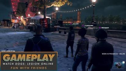 Watch Dogs: Legion Online - Gameplay (Fun with Friends)