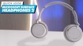 Nopea katsaus - Microsoft Surface Headphones 2