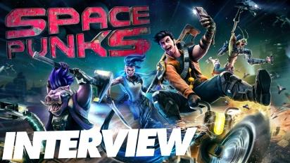 Space Punks - Michael Kuk haastattelussa
